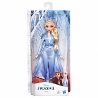 Hasbro HSBE6709 Frost to Forest Character Elsa Doll - 4 Piece