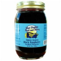 West Virginia Fruit and Berry Almost Heaven Black Raspberry Seedless Preserves