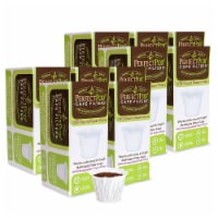 Perfect Pod Cafe Filter Reusable Single Serve Coffee Filters - White