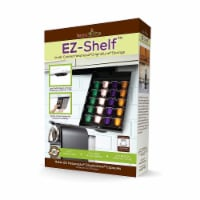 EZ-Shelf Coffee Pod Holder Under Cabinet Drawer Storage Organizer (for Nespresso Original Lin