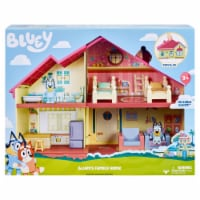 Moose Toys Bluey's Family Home Playset 4 Pack - 1 ct
