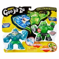 Moose Toys Goo Jit Zu Thrash and Rock Jaw Action Figure Versus Pack - 1 ct