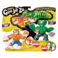 Moose Toys Goo Jit Zu Tygor and Viper Action Figure Versus Pack
