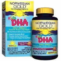 Renew Life Kids DHA Omega-3 Fruit Punch Chewable Softgels - 60 ct