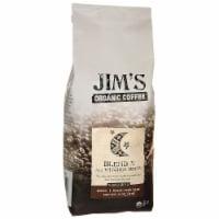 Jim's Organic Coffee - Whole Bean - Sweet Love Blend - Case of 6 - 11 oz.