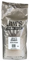 Jim's Organic Coffee Very Dark Italian Roast Whole Bean Coffee