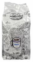 Jim's Organic Coffee Together Decaffeinated Medium Heavy Roast Whole Bean Coffee