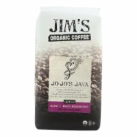 Jim's Organic Coffee - Whole Bean - Jo-Jo's Java - Case of 6 - 12 oz.