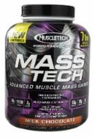 MuscleTech Performance Series Mass-Tech Milk Chocolate Flavored Advanced Muscle Mass Gainer - 7.05 lb
