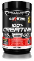 Six Star Elite Series 100% Creatine Unflabored Dietary Supplement