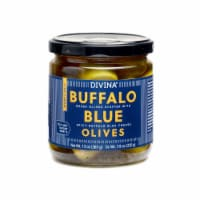 Divina Buffalo Blue Green Olives Stuffed with Spicy Buffalo Blue Cheese - 13 oz