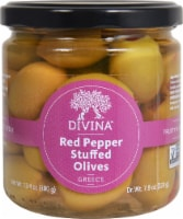 Divina  Red Pepper Stuffed Olives