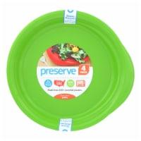 Preserve  Reusable Everyday Plates Apple Green