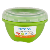Preserve Apple Green Large Round Food Storage Container