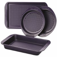 Farberware Colorvive Nonstick Bakeware Set, Purple - 4 Piece