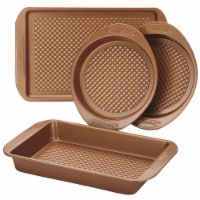 Farberware Colorvive Nonstick Bakeware Set, Copper - 4 Piece