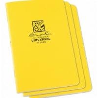 Rite in the Rain All Weather Notebook,Nonwirebound,PK3  371FX - 1