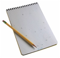 Rite In The Rain All-Weather 6 in. W x 9 in. L Spiral Notebook - Case Of: 6; Each Pack Qty: - Case of: 6