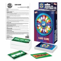 Endless Games Wheel of Fortune Card Game Cardboard 109 pc. - Case Of: 1; - Count of: 1