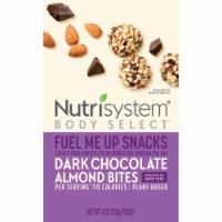 Nutrisystem Body Select Fuel Me Up Snacks Dark Chocolate Almond Bites