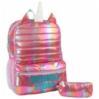 Cudlie Unicorn Squard Quilted Backpack