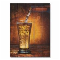 Day Dream AAL2836 28 x 36 in. Amber Ale Inside & Outside Cedar Wall Art - 1
