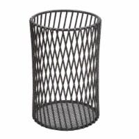 Laura Ashley LA-92555-GREY Speckled Cutlery Basket, Grey - 1