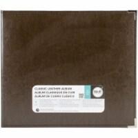 We R Memory Album 12x12 Leather D-Ring Dk Chocolat - 1