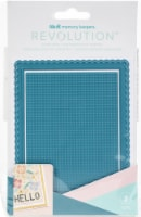 We R Memory Keepers Revolution Dies-Card Front Stitch Grid - 1