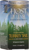 Host Defense Turkey Tail Immune Support Capsules