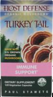 Host Defense Organic Mushrooms Turkey Tail Immune Support