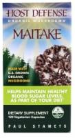 Host Defense Organic Maitake Mushroom Vegetarian Capsules