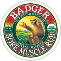 Badger Organic Cayenne and Ginger Sore Muscle Rub
