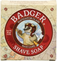 Badger  Navigator Class Man Care Shave Soap