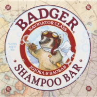 Badger Jojoba & Baobab Shampoo Bar