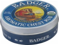 Badger Organic Eucalyptus & Mint Aromatic Chest Rub
