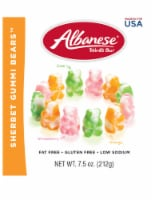 Albanese Sherbet Gummi Bears candy