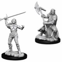 WizKids WZK73542 Dungeons & Dragons Nolzurs Marvelous Miniatures - Female Half-Orc Fighter W7