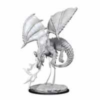 WizKids WZK73683 Dungeons & Dragons Nolzurs Marvelous Young Blue Dragon W8 Miniatures - 1