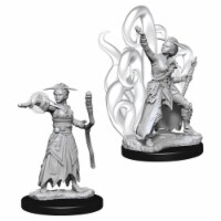 WizKids Dungeons & Dragons Nolzurs Marvelous-Female Human Warlock W10 Miniature