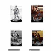 Dungeons and Dragons Female Human Ranger Nolzur's Miniatures - 1 Unit
