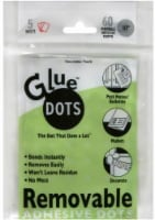 Glue Dots Removable Adhesive Dots - 60 Pack - 0.5 Inch - 0.5 Inch