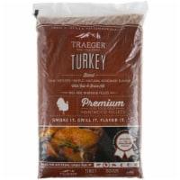 Traeger Wood Fire Grills Turkey Blend Hardwood Pellets