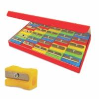 Single Hole Pencil Sharpener, Pack of 25 - 1