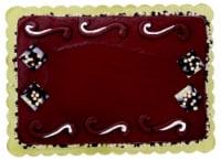 Swirl Chocolate Cake with Buttercream Icing
