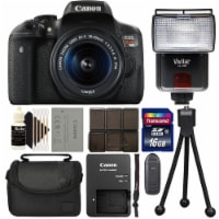 Canon Eos Rebel T6i Digital Slr With Ef-s 18-55mm Is Stm Lens - Wi-fi Enabled + Accessories