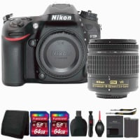 Nikon D7200 Digital Slr Camera With 18-55mm Lens And Top Accessory Kit - 1