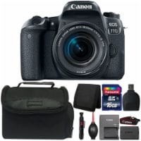 Canon Eos 77d Dslr Camera With 18-55mm Is Stm Lens And Accessory Kit - 1
