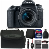 Canon Eos 77d Digital Slr Camera With 18-55mm Lens And Accessories - 1