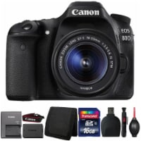 Canon Eos 80d 24.2mp Digital Slr Camera With 18-55mm Is Stm Lens And Accessories - 1